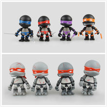Load image into Gallery viewer, (TMNT)Teenage Mutant Ninja Turtles Cartoon Version  Assembled Toys  4pcs