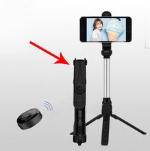 Load image into Gallery viewer, 3-Axis handheld selfie stick