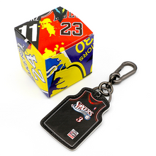 Load image into Gallery viewer, NBA Basketball / Jersey Keychain Pendant