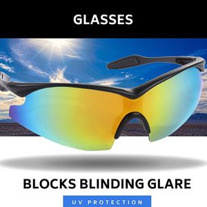 Fashion One-Size-Fits-All Polarized Sports Sunglasses for Men/Women