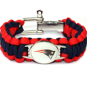 NFL Outdoor Rescue Football Team Umbrella Rope Camping Adventure Emergency Bracelet