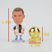 Load image into Gallery viewer, FIFA Ballon d'Or Mini Trophy Alloy Metal