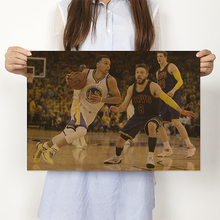 Load image into Gallery viewer, NBA Star Poster Retro Nostalgic Kraft Paper