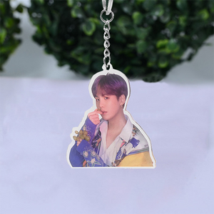 BTS PVC Key Ring Acrylic Key Chain