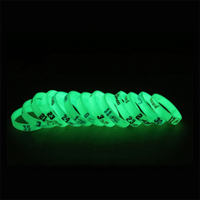 Load image into Gallery viewer, Silicone Rubber Luminous Bracelet NBA Basketball Star Bracelet