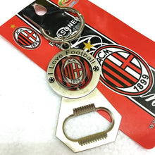 Load image into Gallery viewer, Football Souvenir Team logo Keychain Bottle Opener