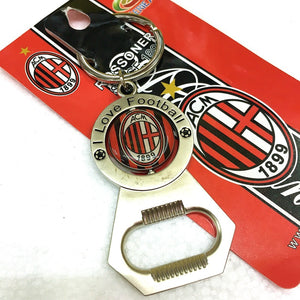 Football Souvenir Team logo Keychain Bottle Opener