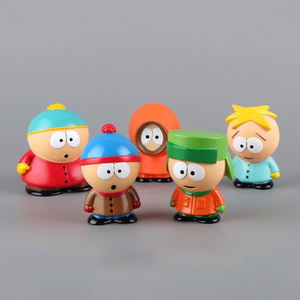 5 pcs South Park Dolls Decoration Toys
