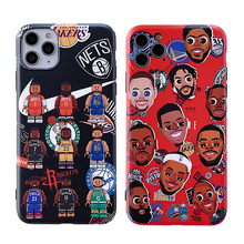 Load image into Gallery viewer, Creative NBA Mobile Phone Case for iPhone