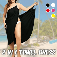 Load image into Gallery viewer, Elegant 2 in 1 towel dress
