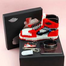 Load image into Gallery viewer, AJ Toy Building Blocks Lego Chicago Sneakers Lightning AJ Building Blocks Boy Gifts