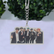 Load image into Gallery viewer, BTS PVC Key Ring Acrylic Key Chain