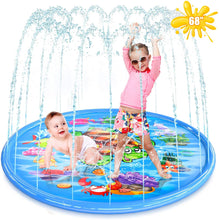 "Load image into Gallery viewer, 68""Child Outdoor Play Splash Pad Sprinklers"