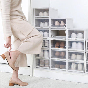 Regular-Clamshell Storage Box Shoes Container