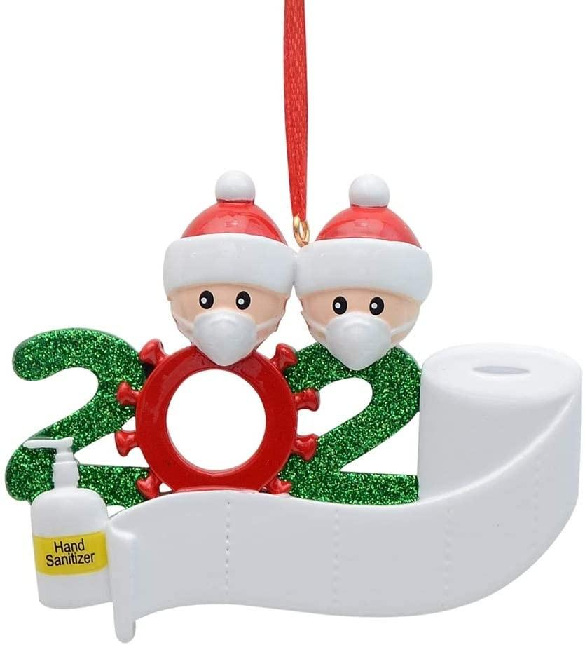 2020 X-MAX Personalized Survived Family Christmas Holiday Decorations