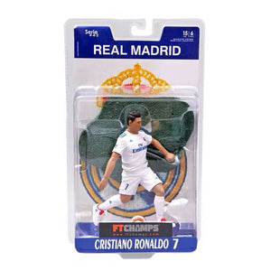 Football Star Barcelona Real Madrid Ronaldo Messi Ornaments Doll