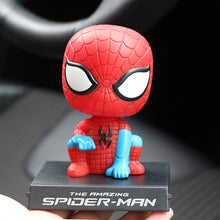 Load image into Gallery viewer, Bobble Head Car Decorations Car Interior Cartoon Doll Phone Holder