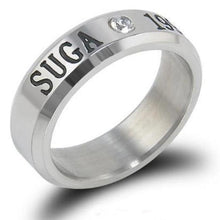 Load image into Gallery viewer, Kpop BTS Stainless Steel Fashion Unisex Ring