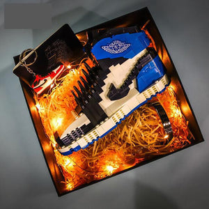 AJ Toy Building Blocks Lego Chicago Sneakers Lightning AJ Building Blocks Boy Gifts