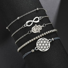 Load image into Gallery viewer, Alex and ANI Hand of Fatima Hamsa Charm Series