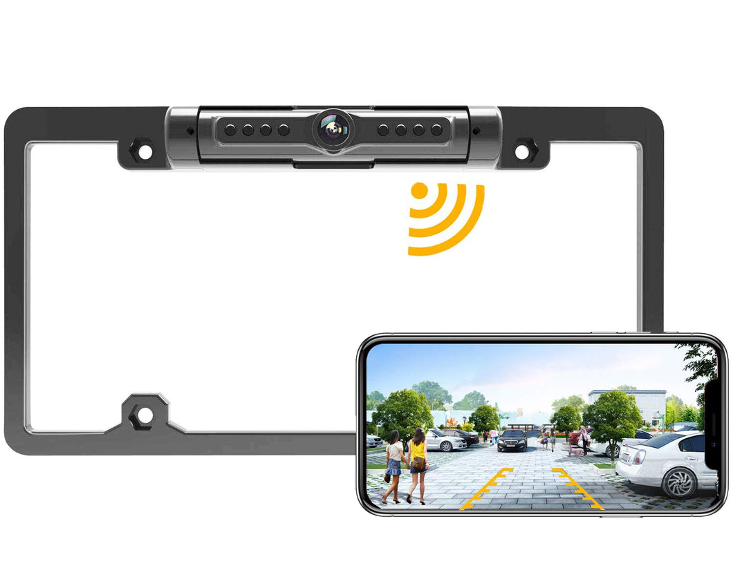 License Plate IR Car Rear View Backup Camera(50% OFF TODAY)