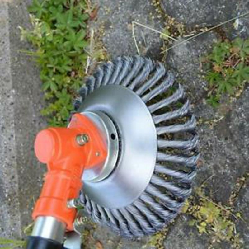 Curved Steel Wire Weed Brush - Fechonline