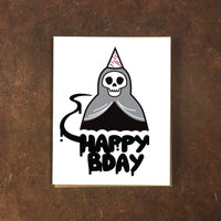 Birthday: Death Card