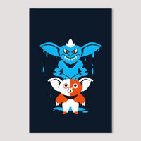 Mini Print (Screenprint): Gremlin