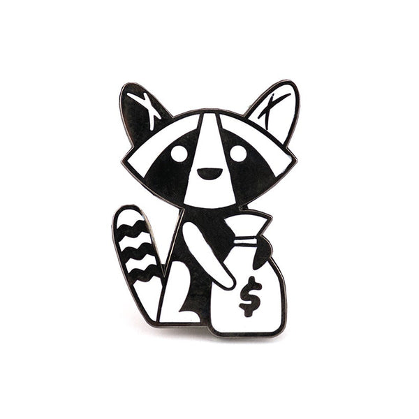 Pin: Money Raccoon