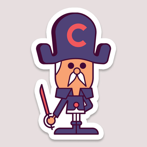 Sticker: Captain Crunch