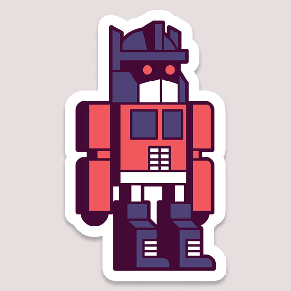 Sticker: Optimus