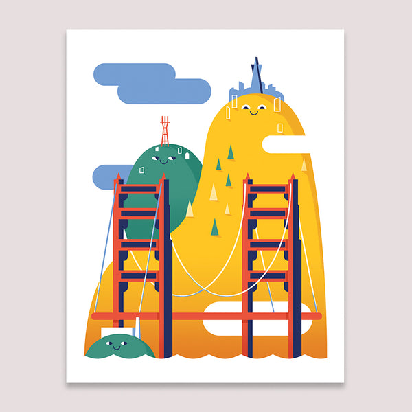 Art Print: San Francisco