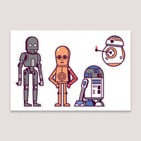 Sticker Set: Droids