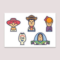 Sticker Set: Toy Story