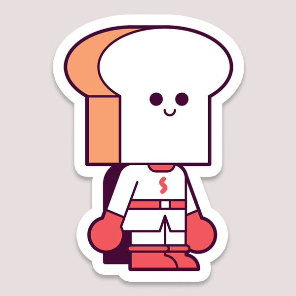 Sticker: Shokupanman Toast