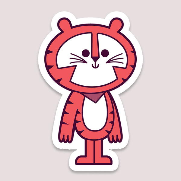 Sticker: Tiger Tony