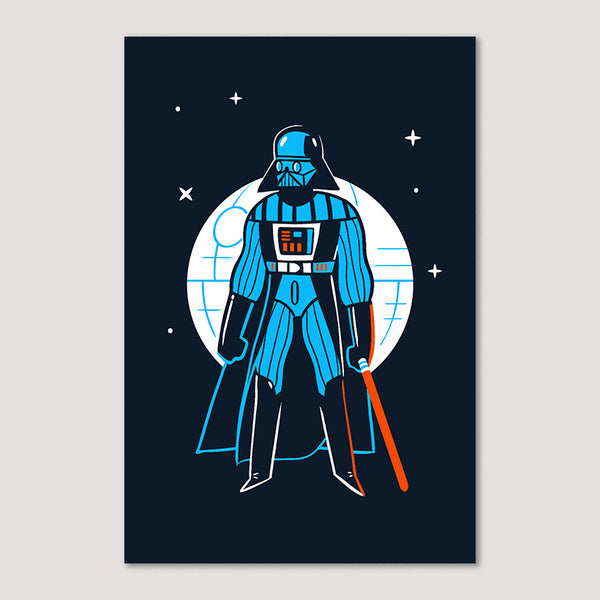 Mini Print (Screenprint): Darth Vader