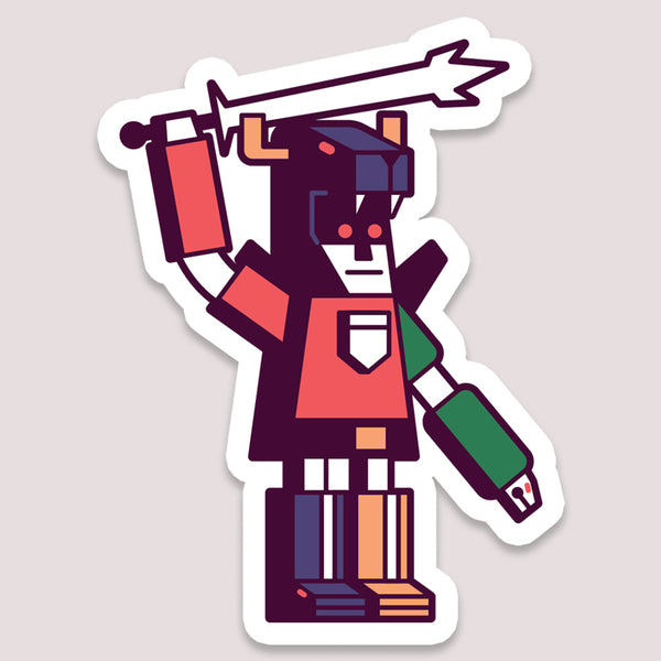Sticker: Voltron