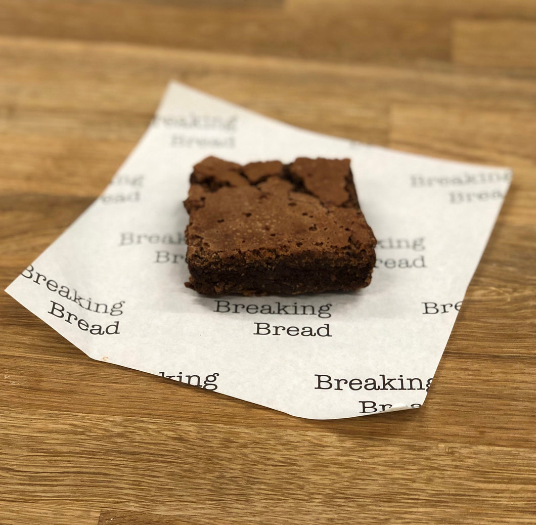 Chocolate brownie (gluten free) (Christmas pick up)