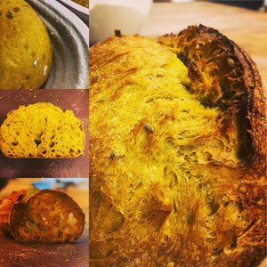 Turmeric & Fennel seed sourdough