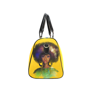 Afro Lady 2 Overnight Travel Bag