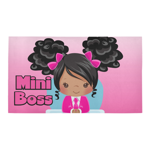 Mini Boss Bath Rug