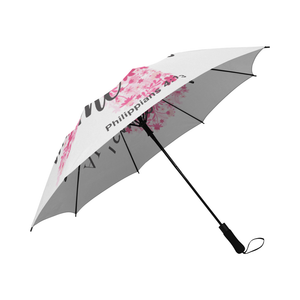 I Can Do All Things Through Christ Breast Cancer Umbrella