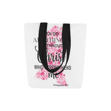 Load image into Gallery viewer, I Can Do All Things Through Christ Tote Bag