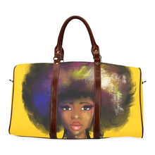 Load image into Gallery viewer, Afro Lady 2 Overnight Travel Bag
