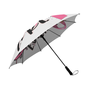 Faith Hope Cure Breast Cancer Umbrella