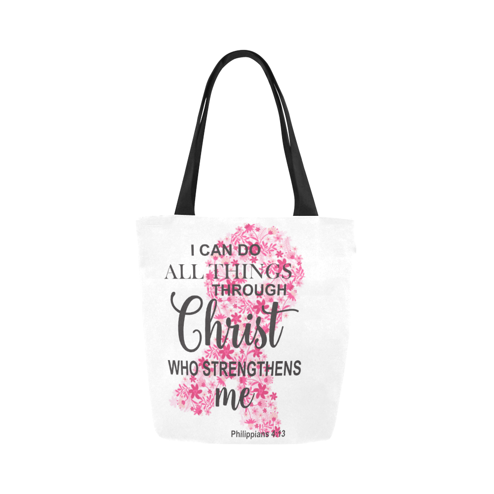 I Can Do All Things Through Christ Tote Bag