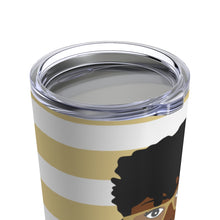 Load image into Gallery viewer, Living My Best Life (Gold) 20oz Stainless Steel Travel Tumbler