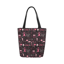 Load image into Gallery viewer, Breast Cancer Survivor/Supporter Tote Bag