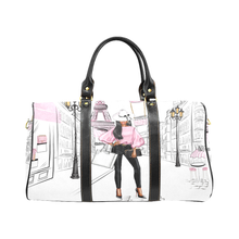 Load image into Gallery viewer, Lady in Pink Paris Weekender Travel Bag